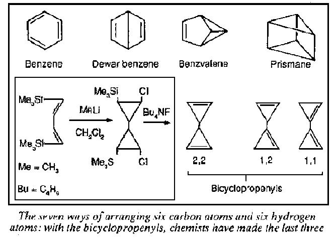 Alternative structures for benzene