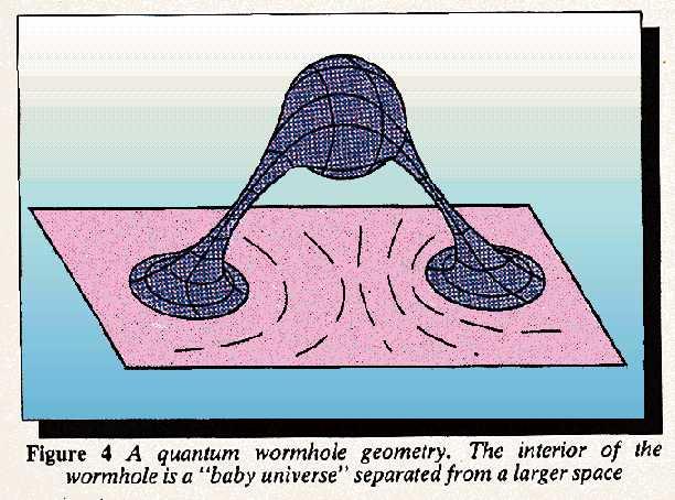 Quantum wormhole geometry