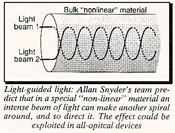 Light-guided light system