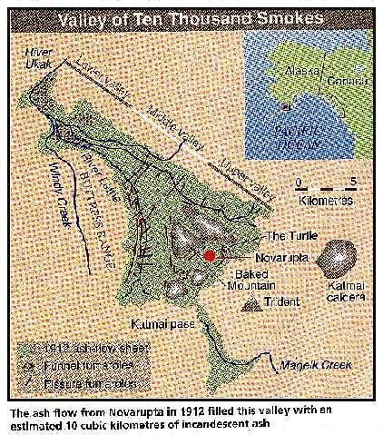 Novarupta volcano - Alaska