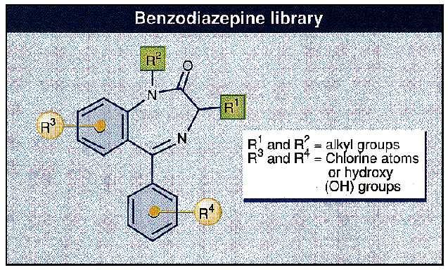 Benzodiazepine Library
