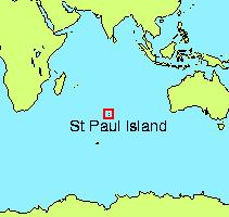 Map of St. Paul's Island