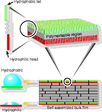 Nanotape formation