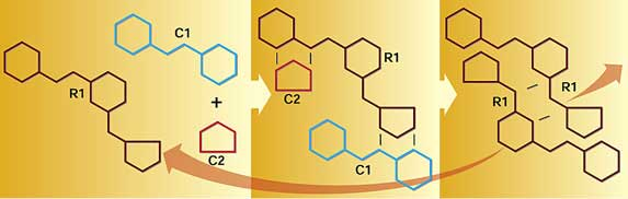 A self-replicating chemical