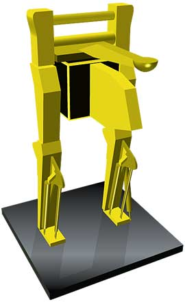 Proposed industrial robot design