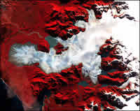 Glacier in Patagonia. Photo: NASA/GSFC/MITI/ERSDAC/JAROS/ASTER science team