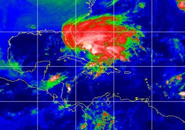 Hurricane Michelle has moved north past Cuba towards the Bahamas (Photo: NOAA)
