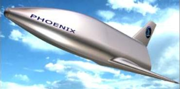 Phoenix will be dropped from a helicopter (Photo: Astrium)