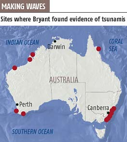 Meteorite impacts frequently trigger tsunamis