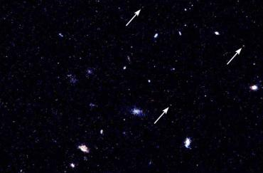 Three distant quasars shown by Hubble's Advanced Camera for Surveys
