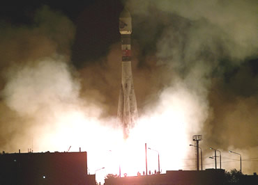 Mars Express and Beagle2 were launched aboard a Soyuz-Fregat rocket