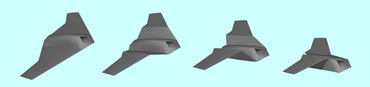 Lockheed Martin believe folding wings are a more efficient way to morph an aircraft