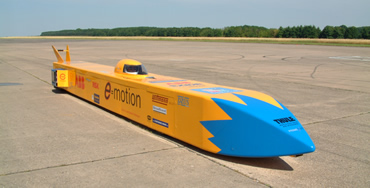 The car is 10 metres long, weighs 1.6 tonnes, and packs 650 horsepower
