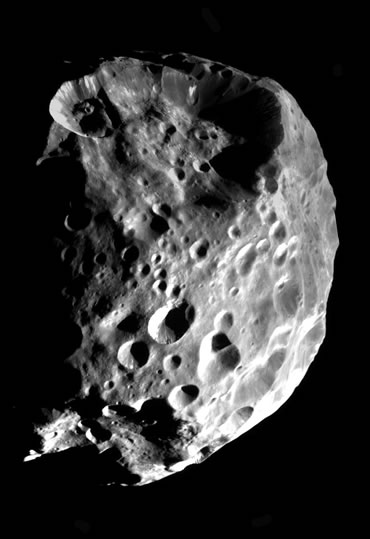 Phoebe may be a captured comet CLICK