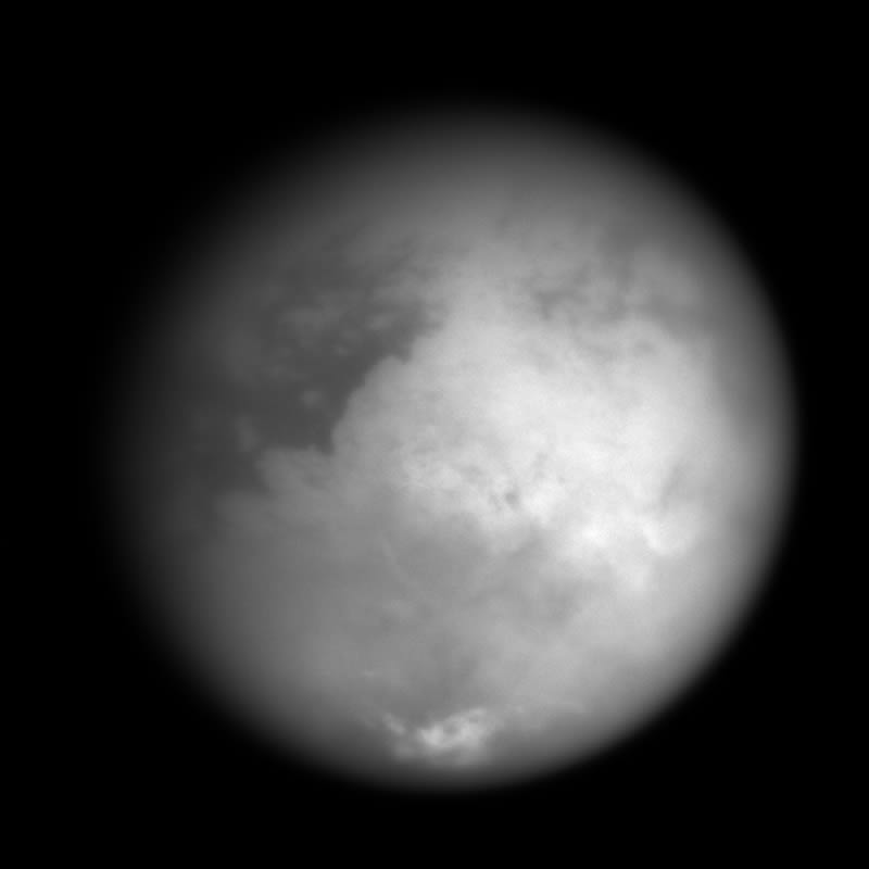The origins of Titan's terrain remains a mystery for now . CLICK to enlarge.