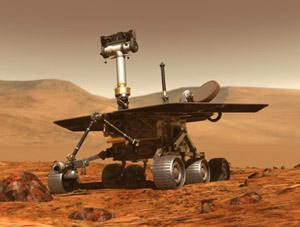 One of NASA's two Mars Rovers