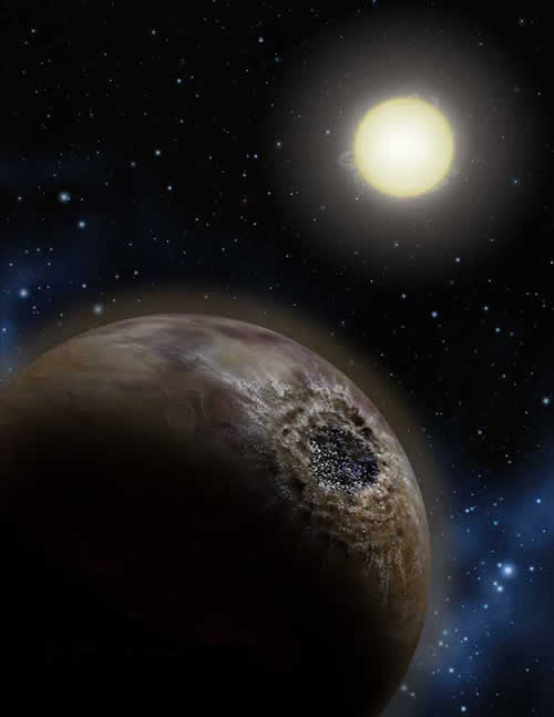 A diamond-layered planet might be dulled by a surface of tar