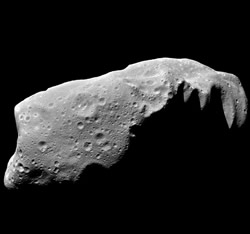 Some asteroids, such as the 52-kilometre-long Ida, may have been melted by radioactive isotopes when the solar system was forming