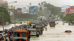 Record-breaking rains deluged Mumbai – at their peak, nearly 1 metre of rain fell in just 24 hours