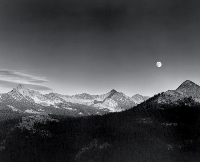 The exact conditions of Ansel Adams' famous photograph are about to reoccur, though clouds could ruin it this time around