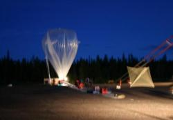 The broadband balloon was tested for nine hours in 200km from the Arctic Circle