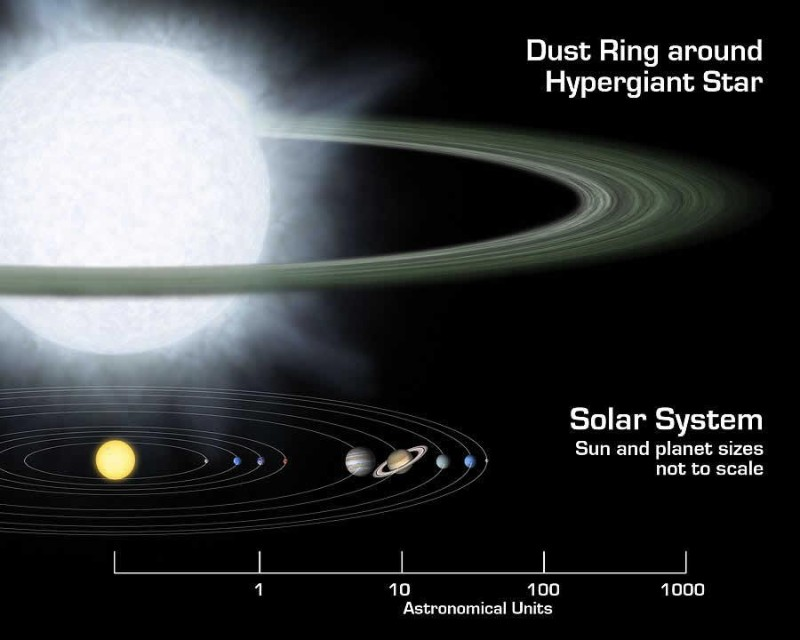 Planets may be forming around stars up to 70 times the Sun's mass