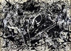 Jackson Pollock's drip paintings unintentionally captured fractal patterns, the deep signature of nature