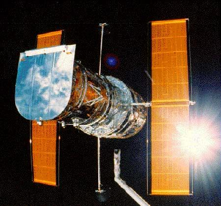 Astronomers used the Hubble Space Telescope (pictured), the Harlan J Smith Telescope and the Vainu Bappu Telescope to study the extreme helium stars