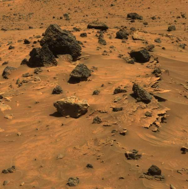 Spirit has spotted at least three types of rocks scientist's hope to analyse during the Martian winter on Low Haven Ridge