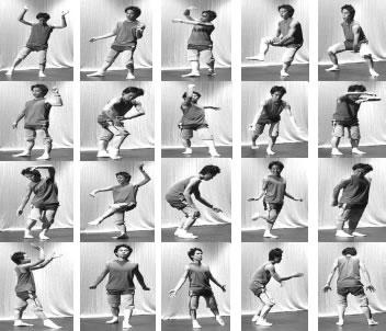 The system can recognise 20 different modern dance moves