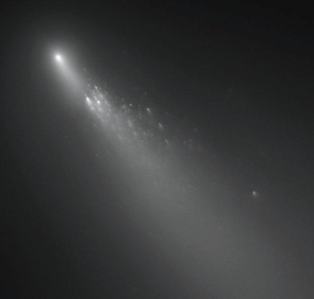 Hubble caught fragment
