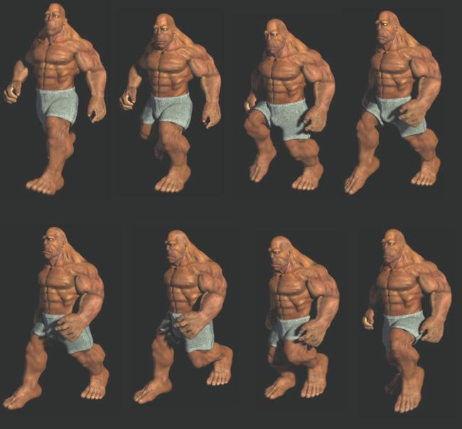 Muscle And Bone Bring Animated Characters To Life New Scientist