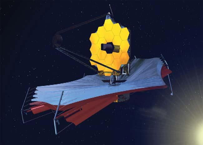The James Webb Space Telescope will be parked 1.5 million kilometres from Earth, too far away for repair missions