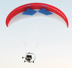Prototype LEAPP paragliders can fly autonomously or under remote control