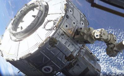 Astronauts will camp out in the Quest airlock to purge nitrogen from their blood