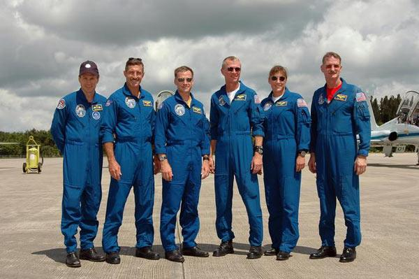 Atlantis's six crew members will launch no earlier than Tuesday