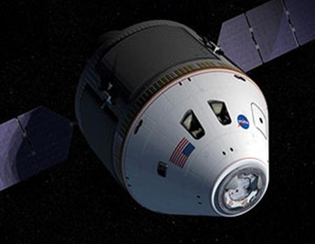 Orion will take astronauts to the International Space Station, the Moon, and one day even Mars (Illustration: NASA)