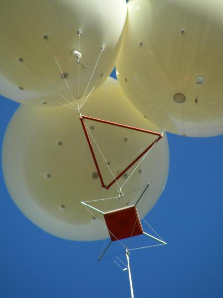 If the platforms were used as Wi-Fi stations, robots would one day be needed to climb up the tethers to deliver new helium tanks for the balloons
