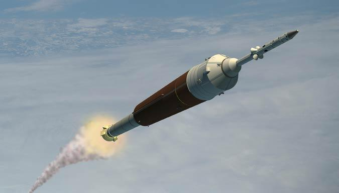 NASA is having trouble getting the parts for one of the engines meant to launch its Orion Crew Exploration Vehicle into orbit (Illustration: Lockheed Martin)