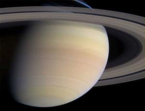 Saturn, the second largest planet in our solar system, is currently being explored by the Cassini-Huygens mission, launched in October 1997