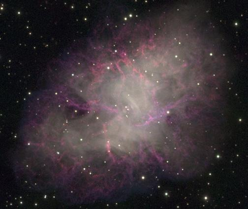 crab nebula visible - photo #20