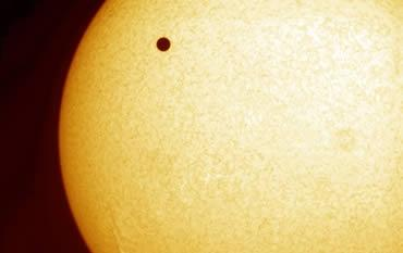 Mercury will pass in front of the Sun on 8 November, the first such event to occur since the 2004 transit of Venus, shown here