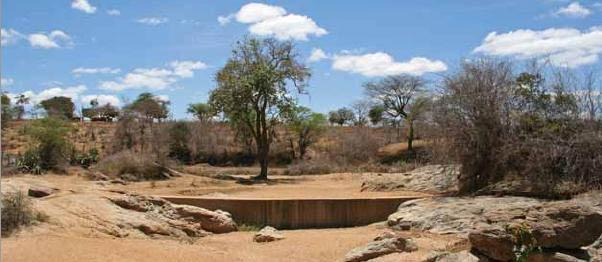 There are now 500 sand dams in the Kitui district of Kenya
