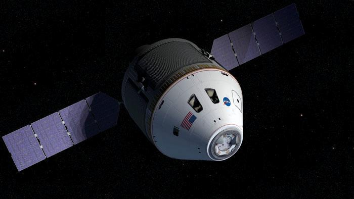 NASA's Orion spacecraft will carry astronauts to the International Space Station and the Moon (Illustration: NASA)