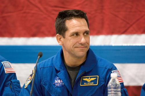 Police found a letter in Nowak's car describing how much she loved fellow astronaut Bill Oefelein, pictured