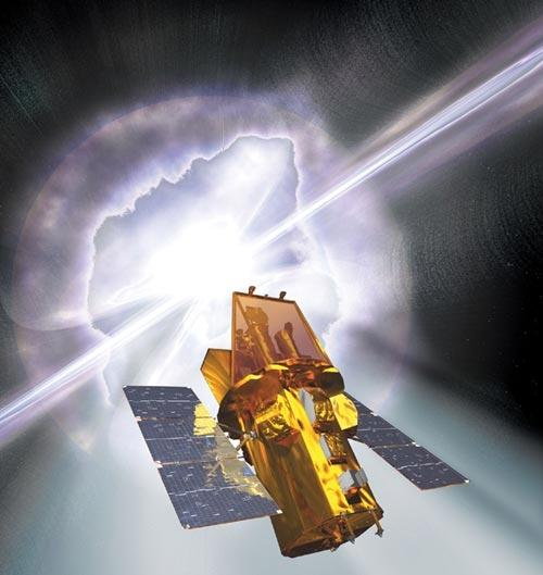 NASA's focus on large missions means low-cost missions like NASA's Swift satellite may not get a chance to fly (Illustration: Spectrum/NASA EPO/Sonoma State University/Aurore Simonnet)