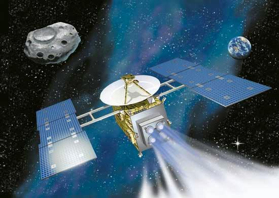 Engineers are uploading software to help Hayabusa return to Earth using its only remaining stabilising reaction wheel – its two others failed in 2005