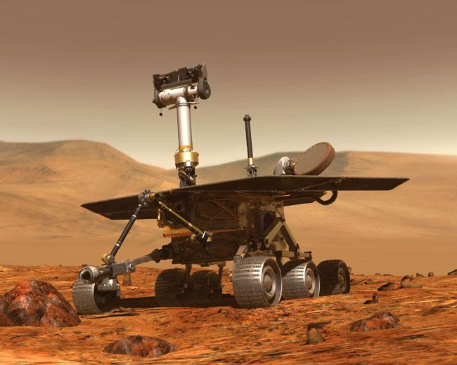 The Mars rover Opportunity is testing new software that would give the rovers greater independence from Earth (Illustration: NASA/JPL)