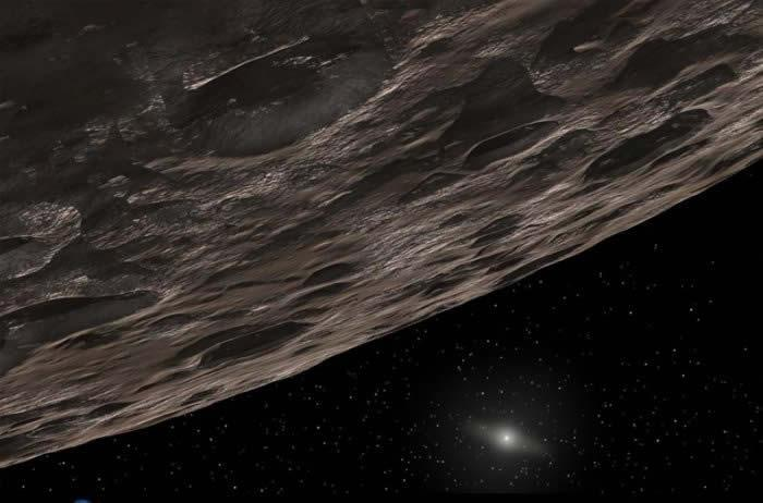 The Kuiper Belt is a vast ring of icy objects beyond Neptune (Illustration: NASA/JPL-Caltech/T Pyle)