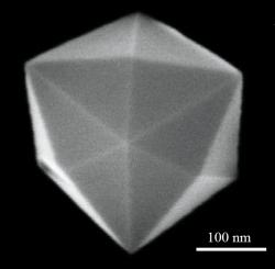 24-sided nano-crystals provide more chemically reactive surfaces